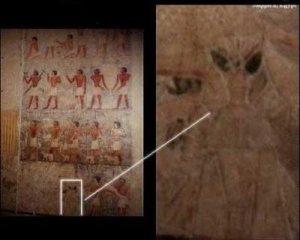 Mais qui se cache au milieu de cette peinture ?