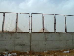encore un mur ; nos dirigeant n'ont-ils pas compris que les murs un jour ou l'autre tombent