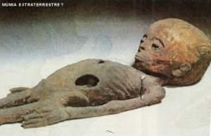 Corps momifié du Visiteur